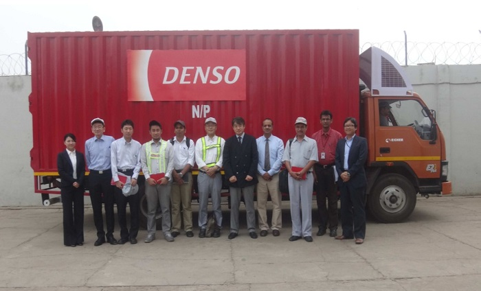 Picture: Ceremonial photograph with DENSO India Limited
